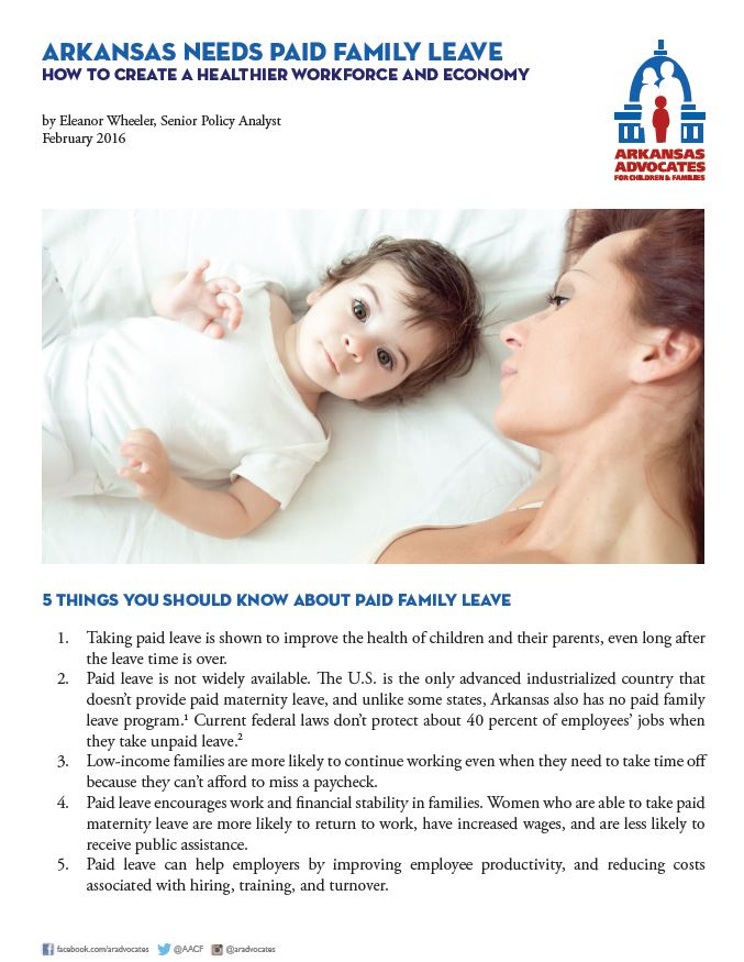 paid family leave cover